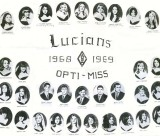 1968 - 1969 the Lucians Club at Miami High School