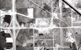1963 - aerial view of the Palmetto Speedway on NW 74th Street and Milam Dairy Road (NW 72nd Avenue), Medley