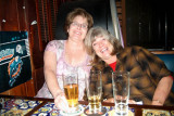 November 2008 - Linda Mitchell Grother and Brenda at 61-year old Bryson's Irish Pub