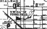 1930's - Hialeah Airport (aka 54th Street Flying Field) on Hialeah Drive, Hialeah, Florida