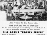 1954 - Bill Ross's Frosty Freeze at 1812 NW 36th Street, Allapattah, Miami