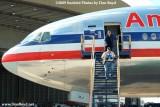 2009 - Eddy Gual and Richard Black exiting American B777-223(ER) N778AN, photo #1491