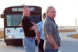 2009 - Tri-Star Bob Patterson, Al Cata and Don Boyd at the 17th annual photographers tour at MIA, photo #1511