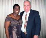 2009 - YN2 Cynthia Murray Thompson, USCGR Retired and Don