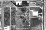 1970 - aerial view of Dressel's Dairy on Milam Dairy Road