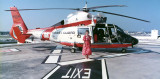 1989 - Karen and U. S. Coast Guard HH-65 #CG-6556 at Miami International Airport
