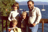 1985 - Justin Reiter, Brenda, Karen D. Boyd and Don at Lake Tahoe, California