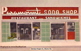 1940 - the Paramount Soda Shop at 253 East Flagler Street