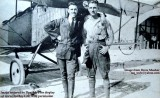 Late 1910's - Joseph G. Carpenter and another gent in front of a Curtiss JN-4B Jenny at Curtiss Field, Hialeah