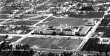 1936 - aerial view of Miami Senior High School