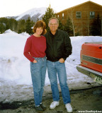 1997 - Brenda and Don in front of her home