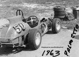 1963 - midget racer at Palmetto Speedway, Medley