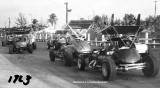 1963 - auto racing at Palmetto Speedway in Medley