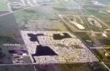 1973 - aerial view of Palm Springs North and Country Club of Miami