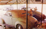 Early 1950's - Johnnie & Mack's first convertible top installation shop at their original location on NE 20th Street, Miami