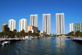 2009 - mostly vacant condo towers on Sunny Isles Beach (#1587)