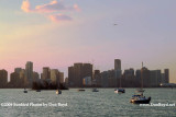 2009 - Biscayne Bay and Miami's high rise buildings at sunset (#1664)