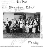 1963 - the Faculty of Dr. John G. DuPuis Elementary
