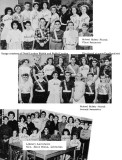 1963 - DuPuis Elementary Safety Patrol members and Library Assistants