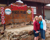 2009 - Karen and Donna on top of Pike's Peak