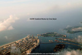 2009 - aerial sunrise view of South Beach, Causeway Island, Terminal Island, Fisher Island, Star Island and Virginia Key