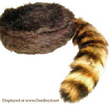 Davy Crockett Coonskin Caps
