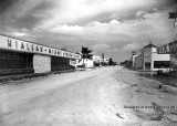 1956 - looking east on Hialeah Drive with the Hialeah Miami Springs Bank on the left and Pix Shoes on the right