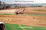 About to land at Lindbergh Field, San Diego stock photo #2995