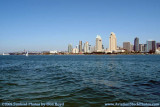 The San Diego skyline from Coronado Island landscape stock photo #3015