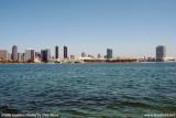 The San Diego skyline from Coronado Island landscape stock photo #3016