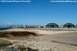 Naval Air Station North Island helos and hangars with downtown San Diego in the background military stock photo #3022