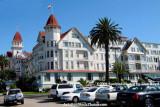 The Hotel Del Coronado landscape stock photo #3034