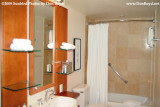 The bathroom of our suite at the Omni Hotel, San Diego stock photo #3000