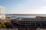 The view from the balcony of our suite at the Omni Hote, San Diego stock photo #3003