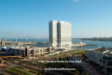 The view of the Hilton Hotel and the Coronado Bridge from our suite at the Omni Hotel stock photo #3006