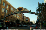 Entrance to the Gaslamp District south of downtown San Diego stock photo #3007