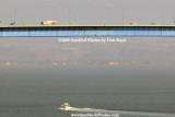 The Coronado Bridge linking Coronado Island to the mainland landscape stock #4748