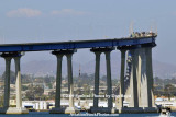 The Coronado Bridge as viewed from Coronado Island landscape stock photo #4760