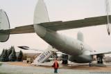October 2009 - Kyler with Lockheed EC-121T Warning Star #AF52-3425