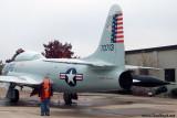 October 2009 - Kyler with Lockheed T-33A Shooting Star #AF57-0713