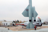 October 2009 - Kyler with a USAF Boeing F-99/IM-69/IM-99/CIM-10 Bomarc ground to air missile