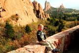 October 2009 - Kyler at the Garden of the Gods, Colorado Springs