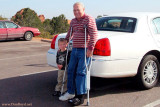 October 2009 - Kyler with Grandpa Don Boyd at Garden of the Gods