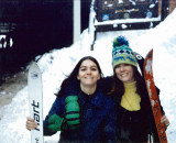 1980 - Karen Johnson and Brenda Reiter at Squaw Valley