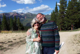 August 2010 - Brenda and long-time friend Butch Eisenminger at Crested Butte Mountain Resort