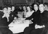 1943 - PO1 Bill Beasley, USN (far right) and other sailors having a great time at Frolic Club in Miami