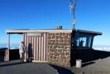 August 2010 - Karen on top of the Haleakalā (East Maui) volcano at 10,023 feet