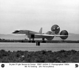 1967 - NASA/Air Force XB-70A Valkyrie #1 landing - not Miami-related