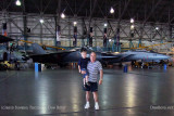 July - Kyler and Don with a FB-111A Aardvark bomber and F-14 Tomcat at the Wings Over the Rockies Air & Space Museum