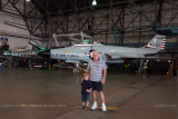 July - Kyler and Don with a F-100D Super Sabre and F-101B Voodoo at the Wings Over the Rockies Air & Space Museum